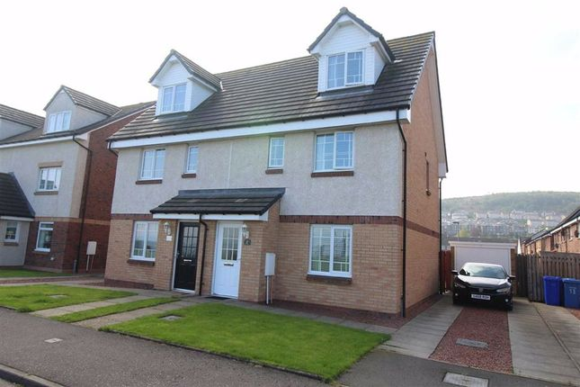 Thumbnail Semi-detached house for sale in Iron Way, Port Glasgow
