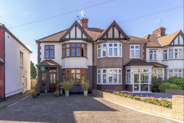 Thumbnail Semi-detached house for sale in Bury Street West, Bush Hill Park Borders