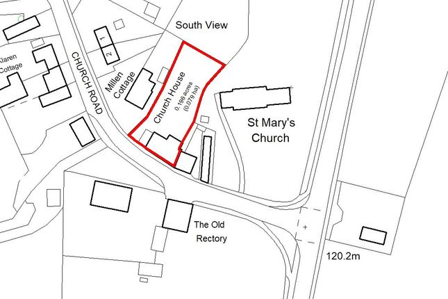 Site Plan of Church Road, Ardley, Bicester OX27