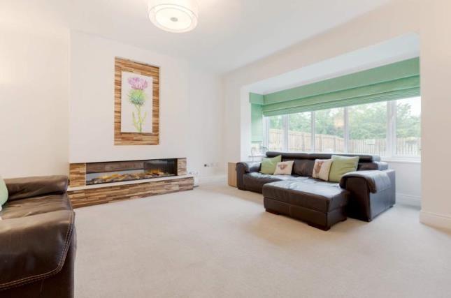 Lounge of Scobbie Place, Redding, Falkirk FK2