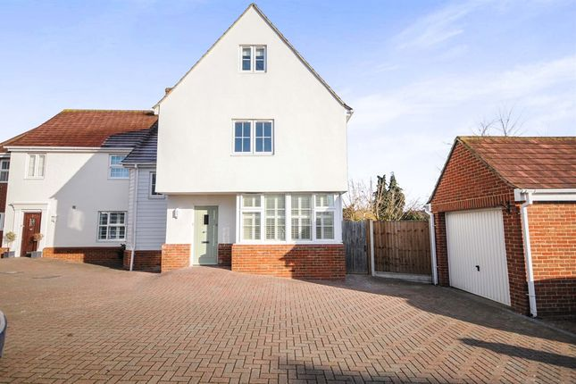 Thumbnail Semi-detached house for sale in Broomfield Mews, Broomfield, Chelmsford