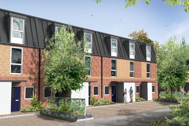 Thumbnail Terraced house for sale in Capstone Green, Capstone Road, Chatham, Kent