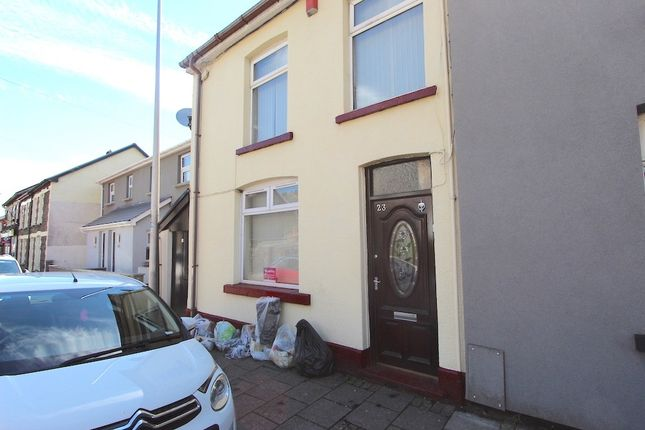 Thumbnail End terrace house for sale in Clydach Road, Tonypandy -, Tonypandy