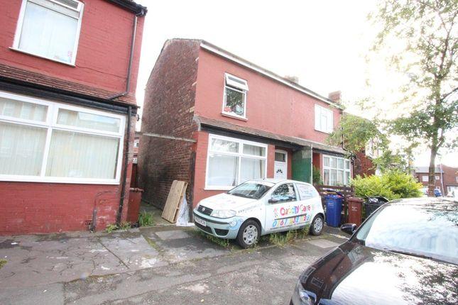 Thumbnail Semi-detached house for sale in Chapel Street, Levenshulme