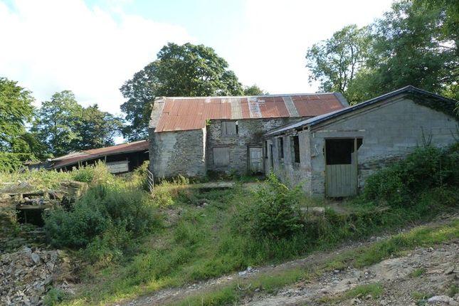 Thumbnail Commercial property for sale in Herodsfoot, Liskeard