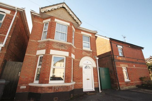 Thumbnail Detached house to rent in Leslie Road, Winton, Bournemouth