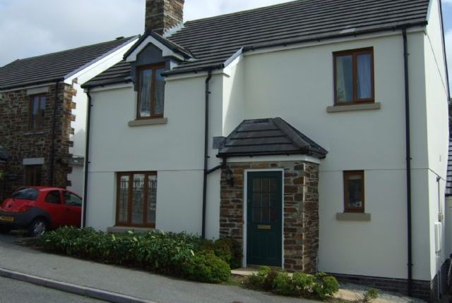 Thumbnail Detached house to rent in Chyvelah Vale, Gloweth, Truro
