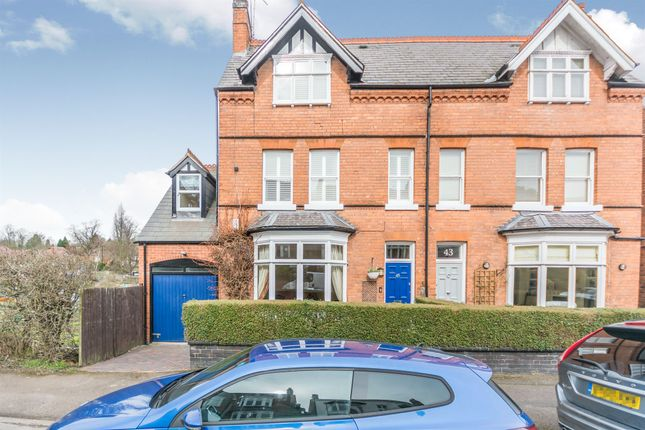 Thumbnail Semi-detached house for sale in Kingscote Road, Edgbaston, Birmingham