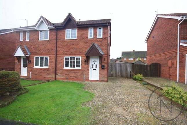 Thumbnail Semi-detached house to rent in Newburn Court, Newton Aycliffe
