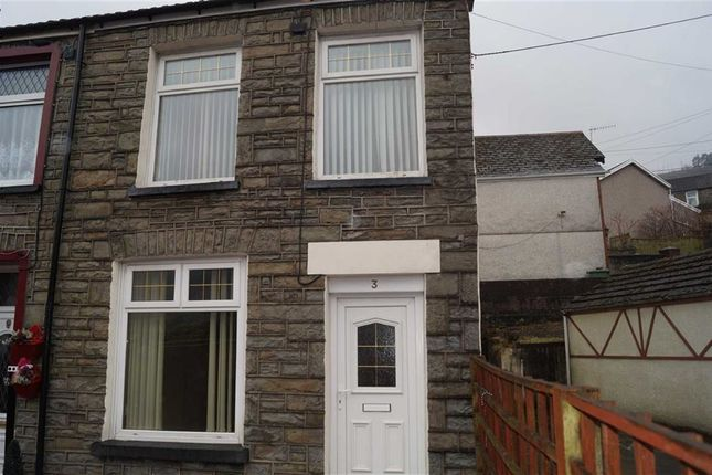 Thumbnail End terrace house for sale in Foundry Terrace, Mountain Ash