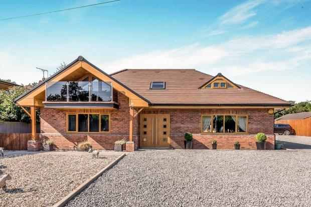 Thumbnail Detached house for sale in Croft Lane, Stafford, Staffordshire