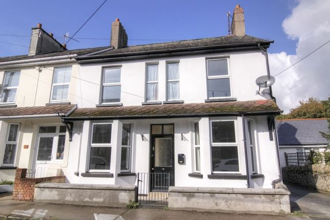 Thumbnail 4 bed end terrace house to rent in Stepping Stone Gardens, North Street, Okehampton