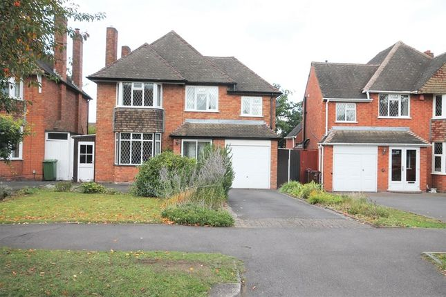 4 bed detached house for sale in Buryfield Road, Solihull