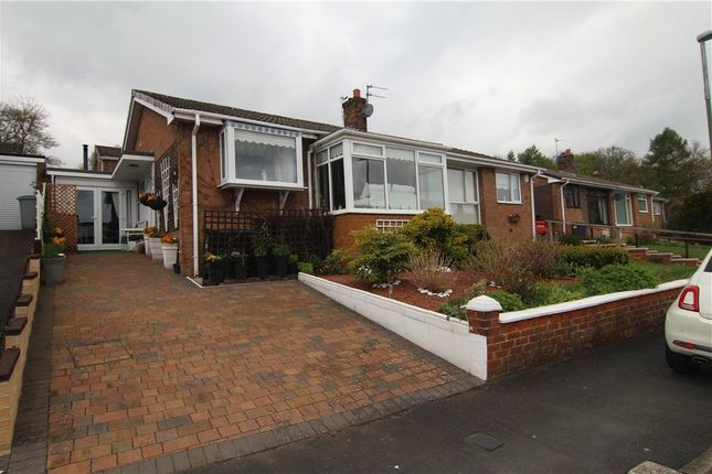 Thumbnail Bungalow for sale in Humberhill Drive, Lanchester, Durham
