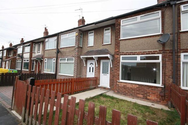 Thumbnail Terraced house to rent in Swaledale Avenue, Hull