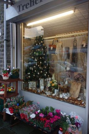 Shop Window of 134 Bute Street, Treherbert CF42