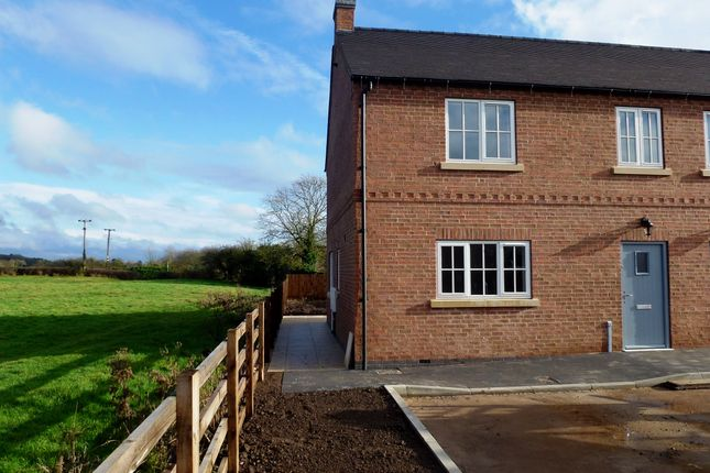 Thumbnail Semi-detached house to rent in The Court, Long Whatton, Loughborough