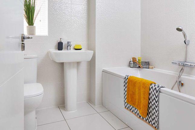 "Typical Bathroom of ""The Ripley"" at Smug Oak Lane, Bricket Wood, St.Albans AL2"