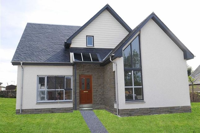 Thumbnail Detached house for sale in Old Brechin Road, Lunanhead, By Forfar