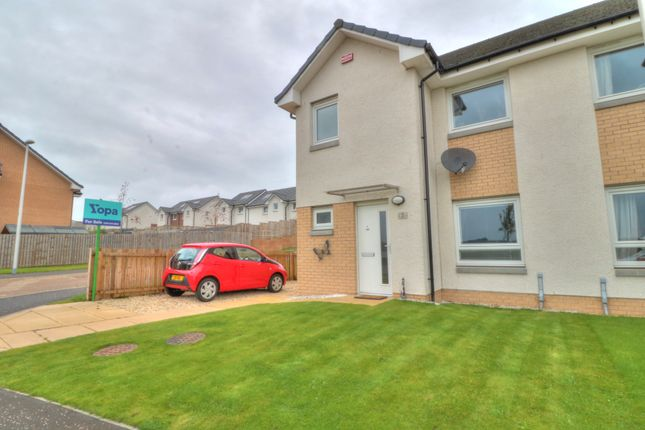 Thumbnail 3 bed semi-detached house for sale in Kilwinning Place, Dundee