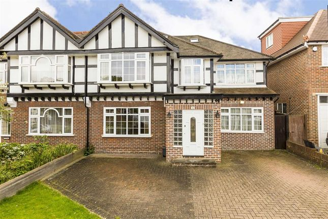 5 bed semi-detached house to rent in Grasmere Avenue, London