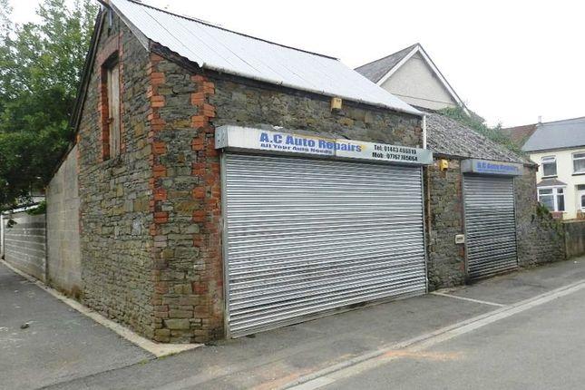 Thumbnail Parking/garage to let in Nile Street, Pontypridd