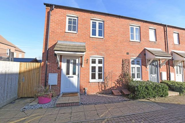 Thumbnail End terrace house for sale in Beckett Gardens, Bramley, Tadley