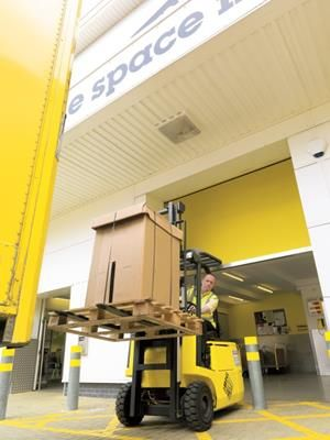 Fork Lift of Big Yellow Self Storage Chester, The Printworks, Sealand Road, Chester CH1