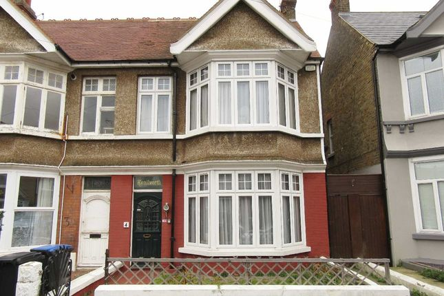 Thumbnail Semi-detached house to rent in Lyndhurst Avenue, Cliftonville, Margate