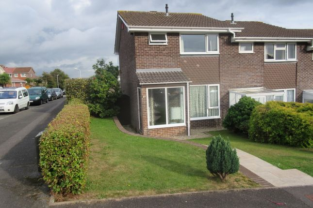 Thumbnail End terrace house to rent in Rigdale Close, Eggbuckland, Plymouth