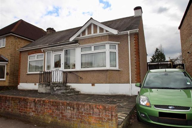 Thumbnail Detached bungalow for sale in Gaynes Hill Rd, Woodford Green, Essex