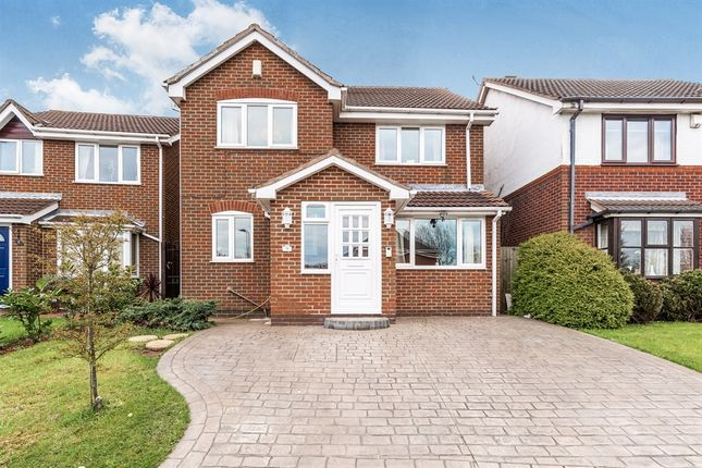 Thumbnail Detached house for sale in Redbridge Drive, Nuthall, Nottingham