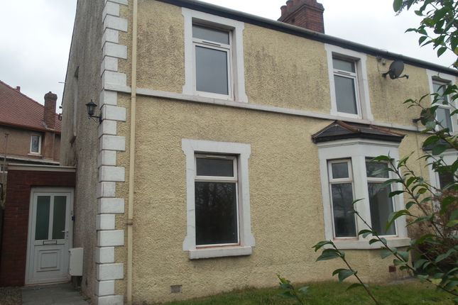 Thumbnail Semi-detached house to rent in Tanygroes Place, Port Talbot