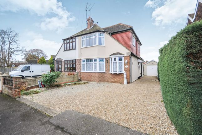 Thumbnail Semi-detached house for sale in Baddow Place Avenue, Great Baddow, Chelmsford