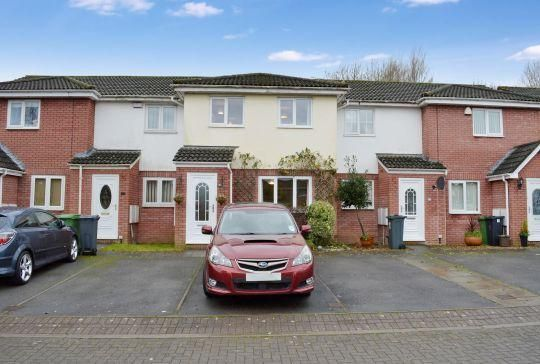 Thumbnail Terraced house for sale in Meadowsweet Drive, St. Mellons, Cardiff