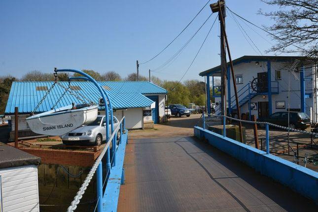 Swan Island Entrance