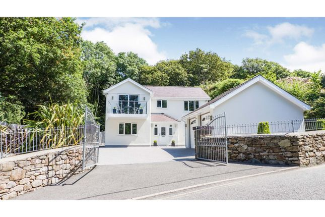 Thumbnail Detached house for sale in New Gerlan Road, Bethesda