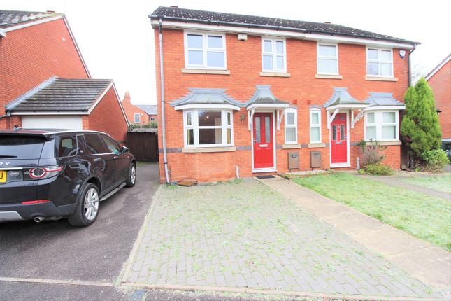 Thumbnail Semi-detached house for sale in Waveley Road, Coundon, Coventry