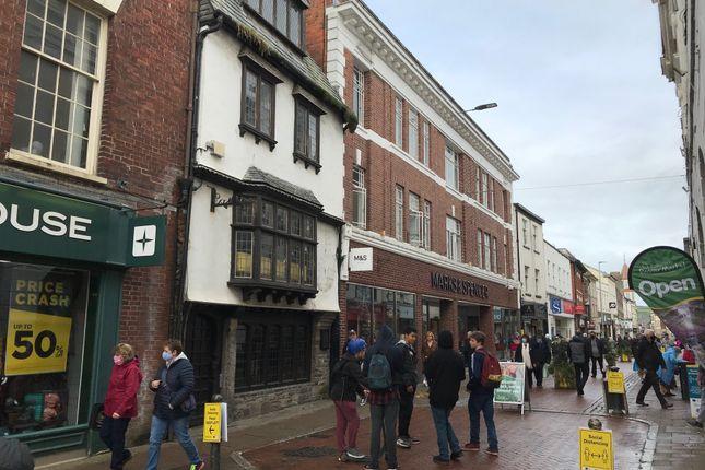 Thumbnail Restaurant/cafe for sale in High Street, Barnstaple