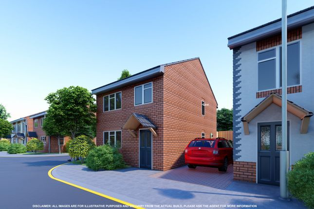Thumbnail Detached house for sale in Plot 4 Warwick New John Street, Halesowen, West Midlands
