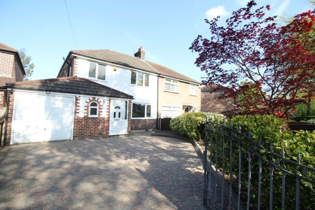 Thumbnail Semi-detached house to rent in Hayeswater Road, Urmston, Manchester