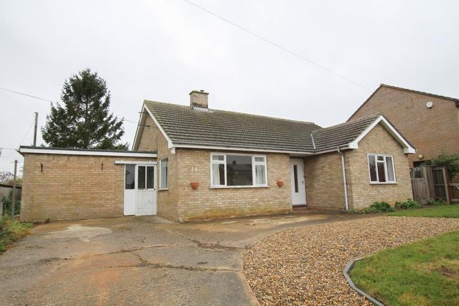 Thumbnail Detached bungalow for sale in Brook Lane, Stretham, Ely