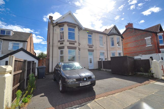 3 bed flat to rent in Gorsehill Road, New Brighton, Wallasey