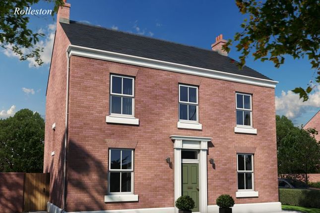 Thumbnail Detached house for sale in The Rolleston, Burton Road Tutbury, Staffordshire