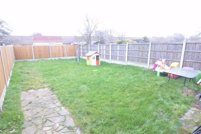 Rear Garden of Winifred Road, Basildon, Essex SS13