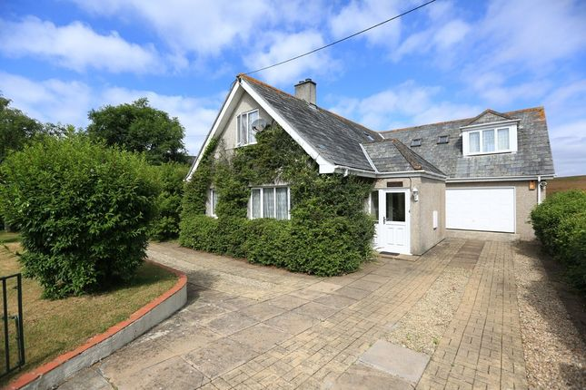 Thumbnail Detached house for sale in Knighton Road, Wembury, Plymouth