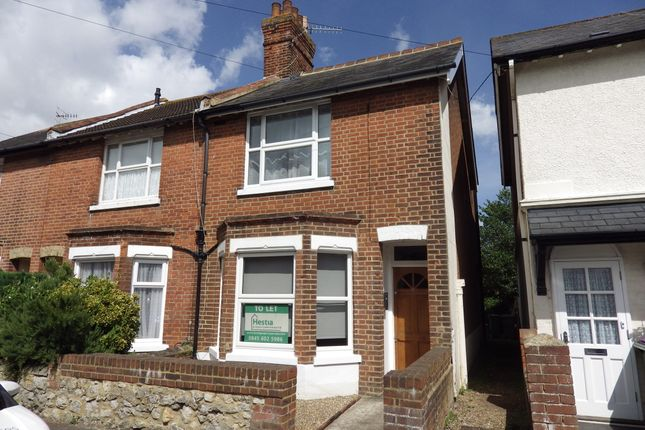 Thumbnail End terrace house to rent in Twiss Road, Hythe
