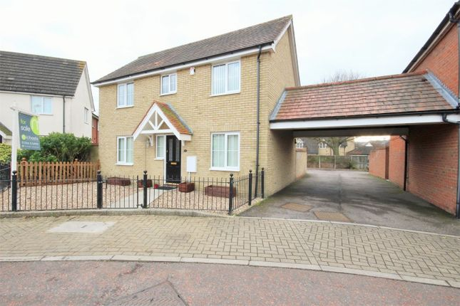 Thumbnail Detached house for sale in Caracalla Way, Mile End, Colchester
