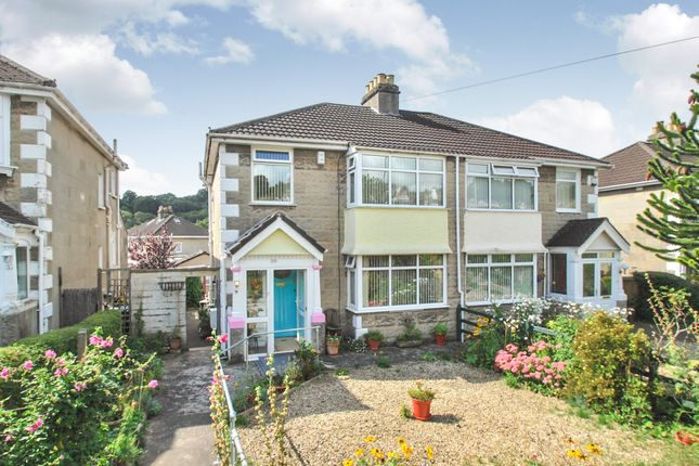 Thumbnail Semi-detached house for sale in Newbridge Road, Lower Weston, Bath