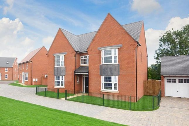 "Thumbnail Detached house for sale in ""Evesham"" at Shrewsbury Court, Upwoods Road, Doveridge, Ashbourne"